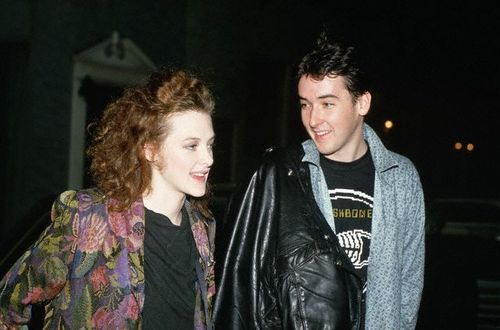 Actors Joan and John Cusack